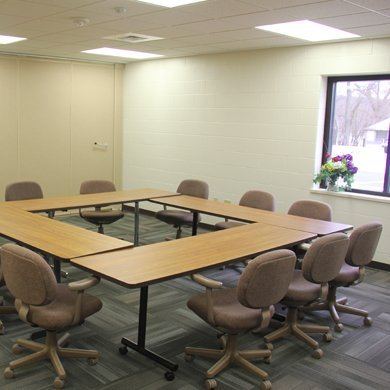 Pretty Lake Camp offers small meeting spaces
