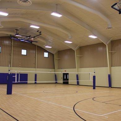 Pretty Lake Camp has a gymnasium