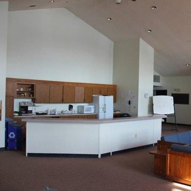 Pretty Lake Retreat Centre includes kitchenette for use