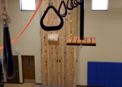 Pretty Lake Adventure Centre offers indoor ropes course