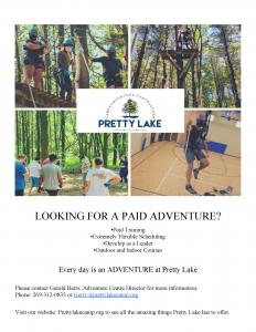 Adventure Centre is hiring facilitators